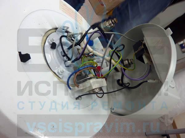 Ремонт водонагревателя аристон 15 литров своими руками