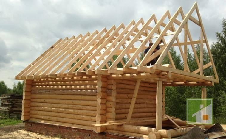 Процесс возведения двухскатной крыши своими руками