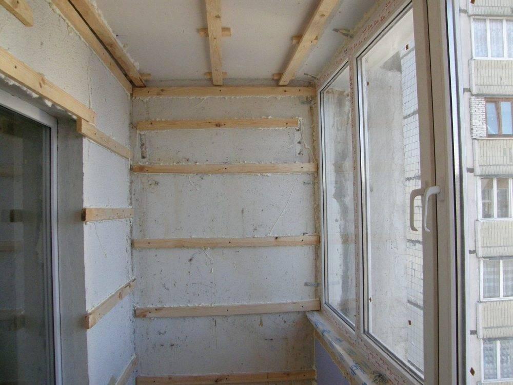 Обшивка балкона вагонкой своими руками: 6 этапов монтажа