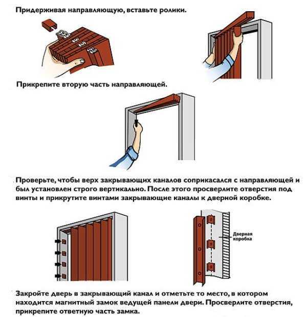 Межкомнатная дверь-книжка: особенности, виды, изготовление и монтаж своими руками