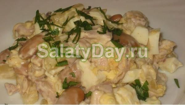 Вкусный салат с фасолью консервированной. 9 простых рецептов к празднику и на каждый день