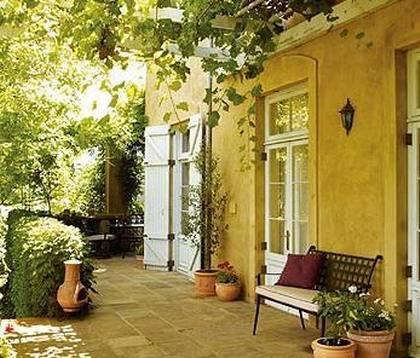 Итальянский или средиземноморский стиль ландшафтного дизайна