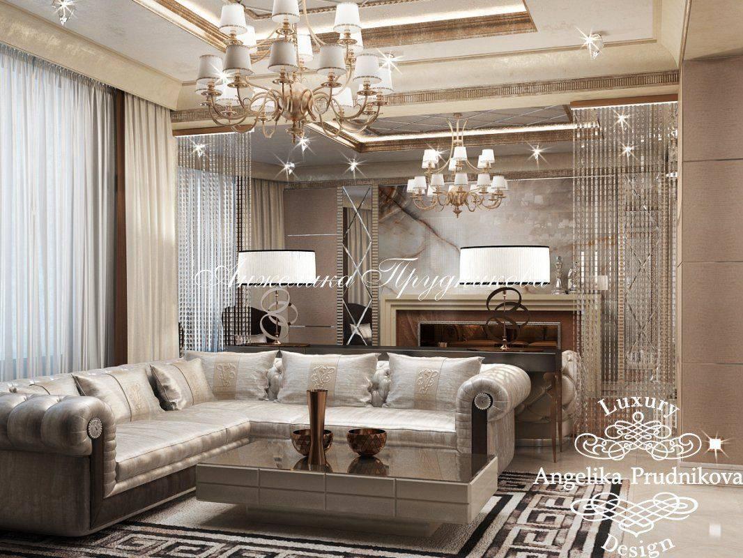 Выбираем шторы в гостиную: 15 модных идей