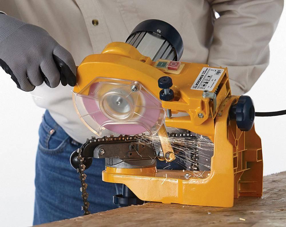 Заточка цепи бензопилы – обзор самых эффективных методов заточки цепи в домашних условиях. инструкция + фото и видео!