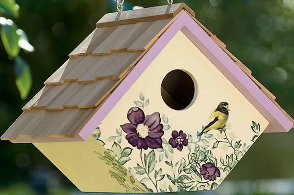 Как сделать красивый и удобный для птиц скворечник своими руками