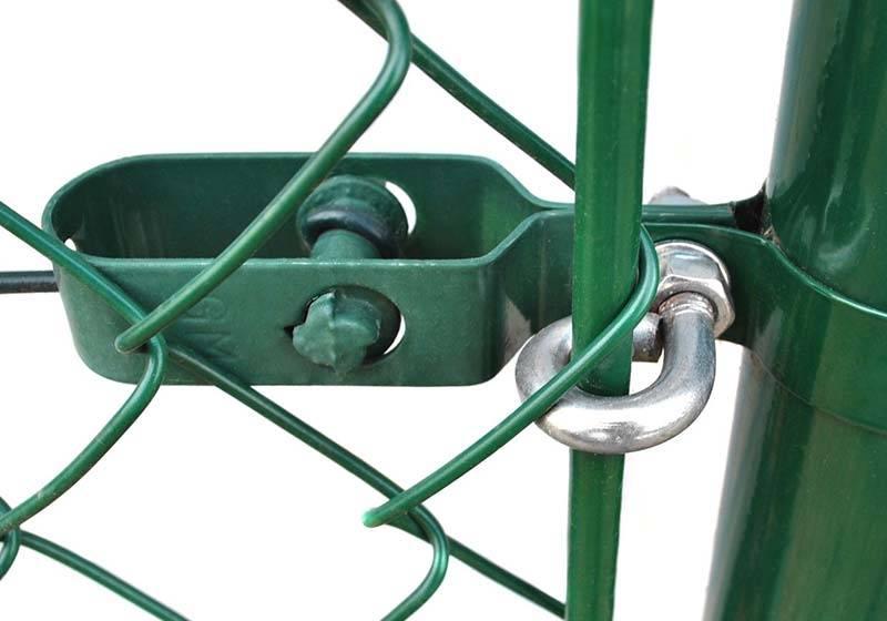 Забор из рабицы своими руками: пошаговый процесс установки забора из сетки рабицы