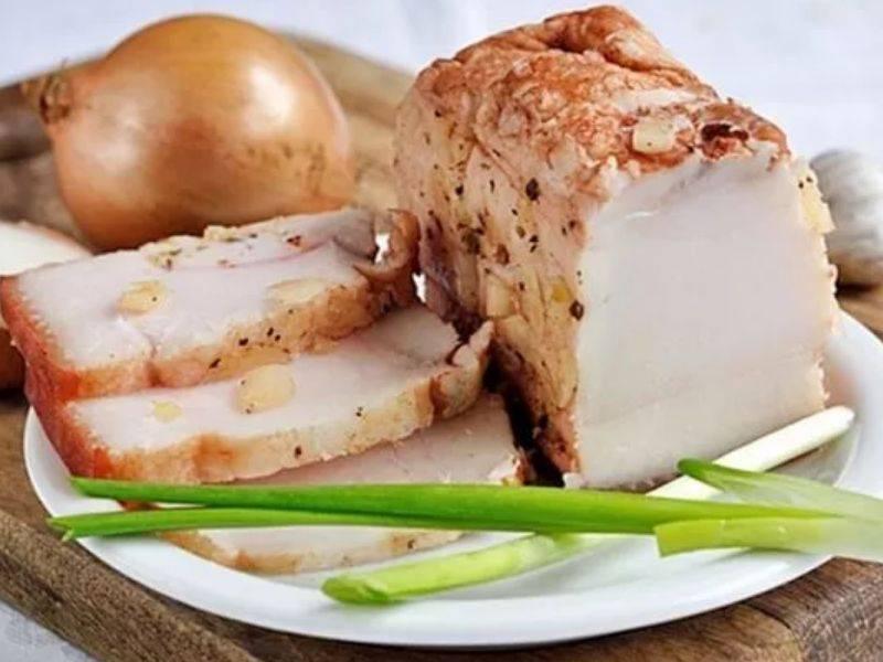 Сало в луковой шелухе. лучшие рецепты, получившие признание