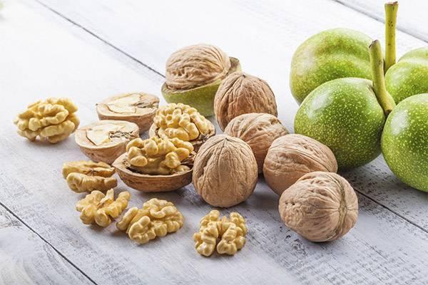 Грецкие орехи с медом: польза и вред