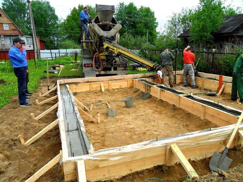 Фундамент своими руками. виды фундаментов для частных домов.