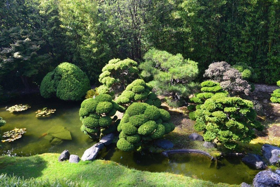 Как сделать своими руками японский садик?