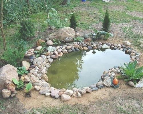 Создание декоративных прудов на участке своими руками