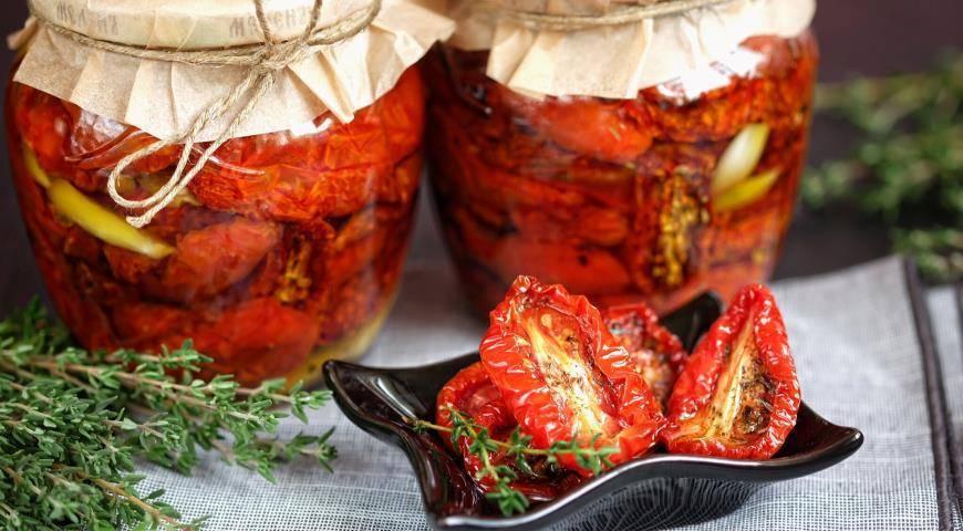 Вяленые помидоры в духовке — только домашние рецепты