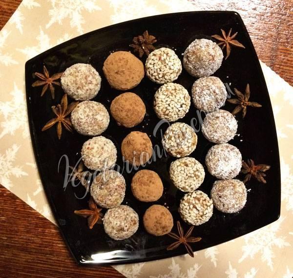 Как приготовить полезные конфеты из сухофруктов