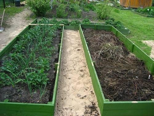 Грядки для ленивых — фото и рекомендации по созданию огорода