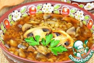 Суп из чечевицы с мясом и картофелем