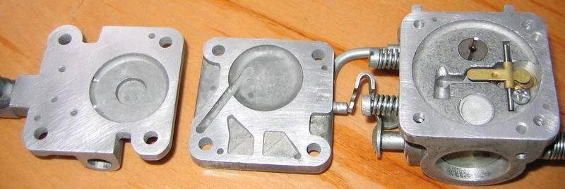 Карбюратор бензопилы – устройство, регулировка и промывка своими руками