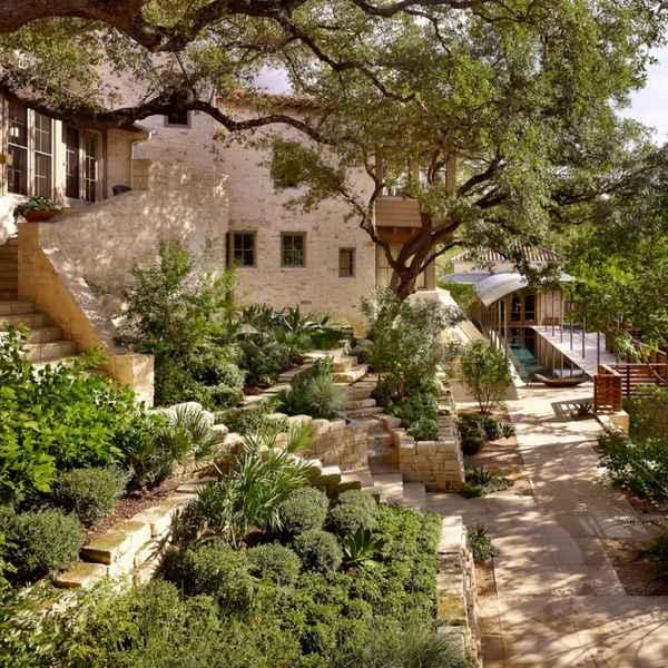 Средиземноморский стиль в частной архитектуре