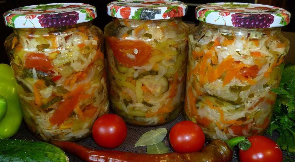 Салат на зиму из свеклы