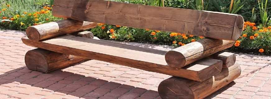 Как сделать лавочку для дачи своими руками - деревянные и металлические, советы и интересные фото идеи