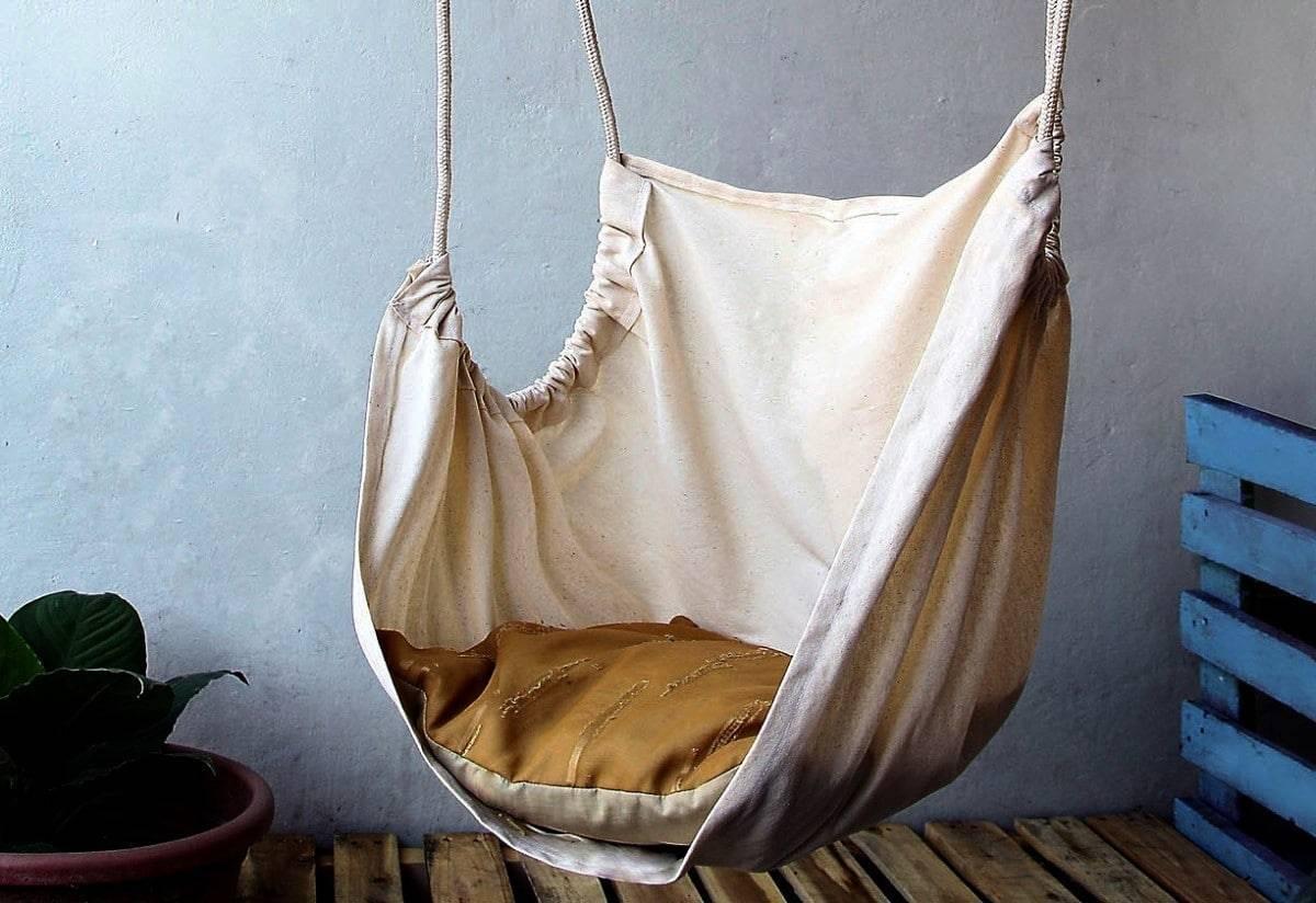 Домашний релакс с подвесным гамаком
