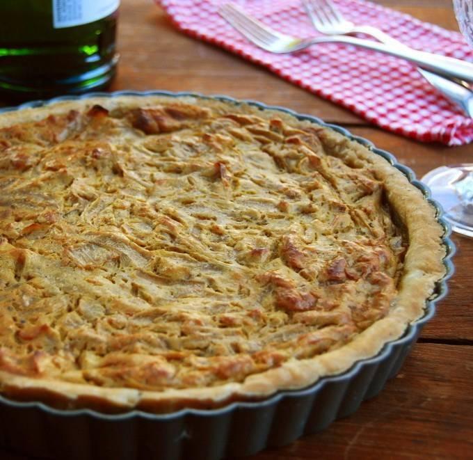 Луковый пирог — классические рецепты французского пирога