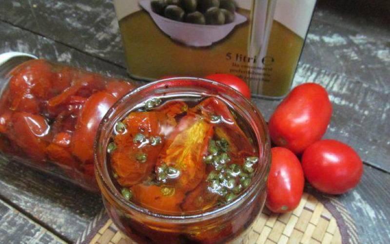 Вяленые помидоры в домашних условиях: рецепт на зиму и не только