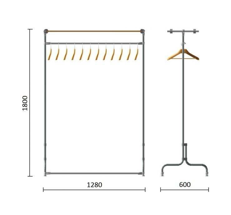 Вешалка для одежды в прихожую – настенные и комбинированные идеи современного дизайна (75 фото)