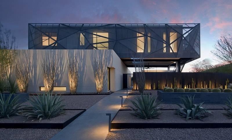 Хай-тек в частной архитектуре, фото