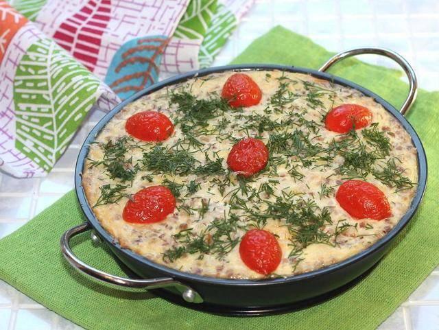 Пошаговый рецепт приготовления запеканки из гречки
