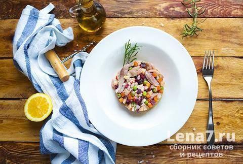 Салат сельдь под шубой с яблоком – классический рецепт с фото приготовления