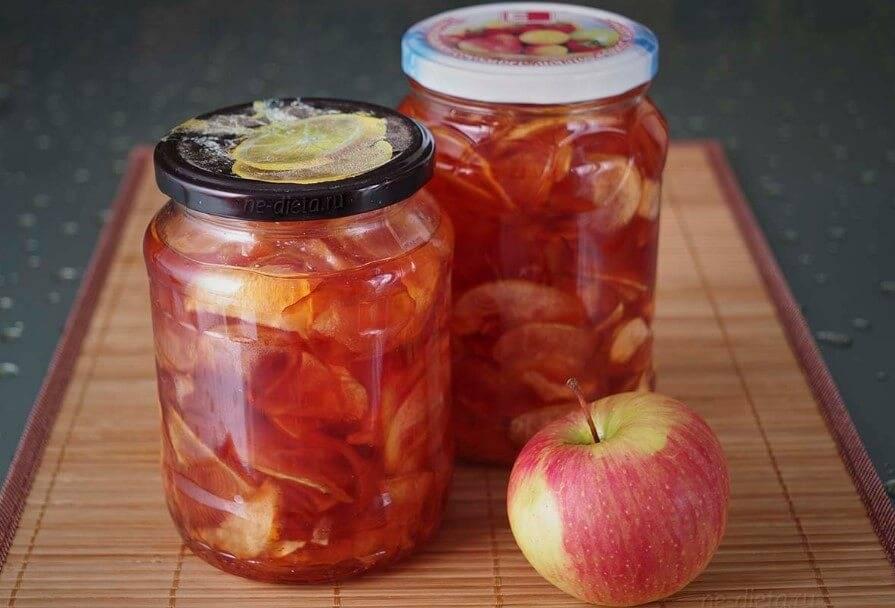 Рецепт прозрачного варенья из яблок дольками: просто и вкусно. рецепт варенья из яблок дольками янтарное яблочное варенье видео рецепт