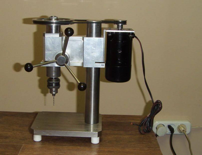 Сверлильный станок из дрели своими руками: пошаговая инструкция с подробным описанием