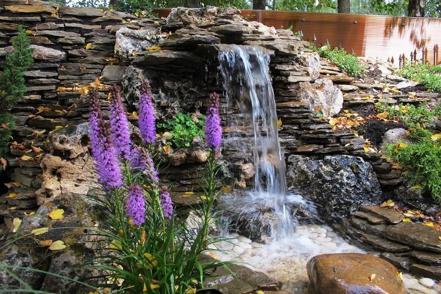 Водопад своими руками — самые красивые идеи и пошаговое описание их постройки у себя на участке (135 фото + видео)