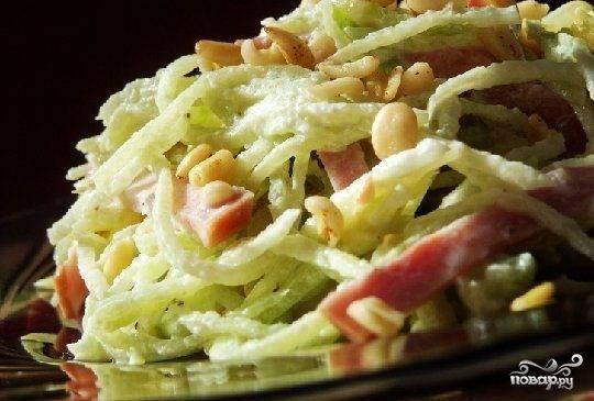 Салат из репы: 9 вкусных рецептов