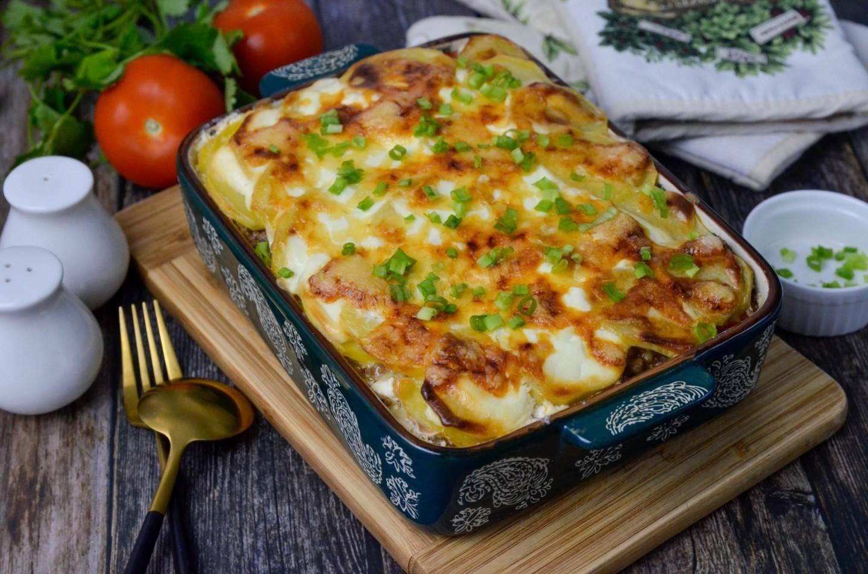 Божественно аппетитное блюдо — запеканка из картофеля в духовке