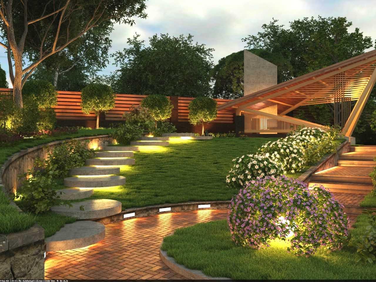 Красивый сад малого ухода для ленивых план создания от а до я
