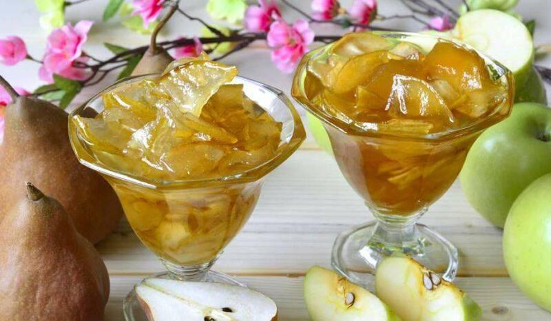 Янтарное варенье из груш: дольками и целиком, с медом и лимоном