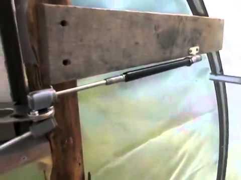 Установка термопривода в теплице и правила проветривания