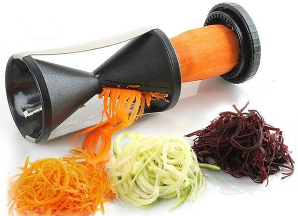 Модная спиральная овощерезка из Китая для креативных личностей