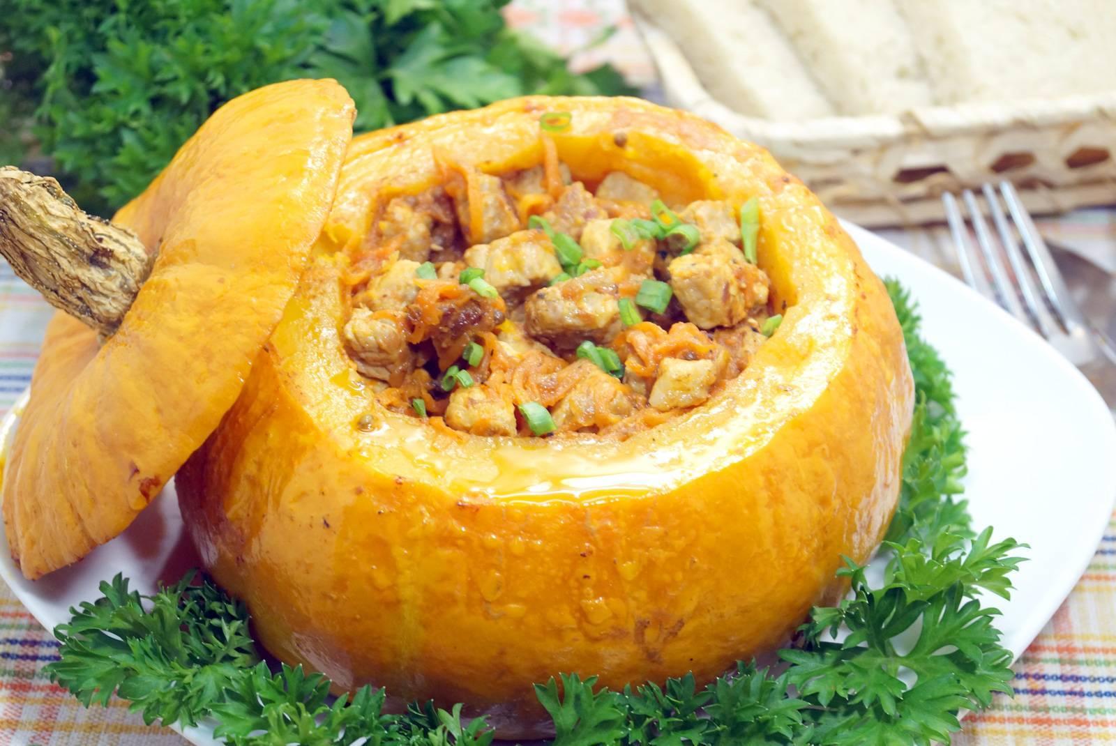 Блюда из тыквы — рецепты быстро и вкусно