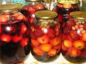 Рецепты из райских яблочек на зиму