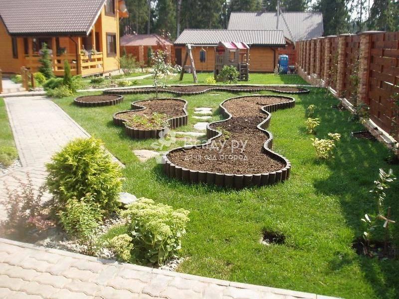 Ландшафтный дизайн дачного участка — новый стиль вашего сада