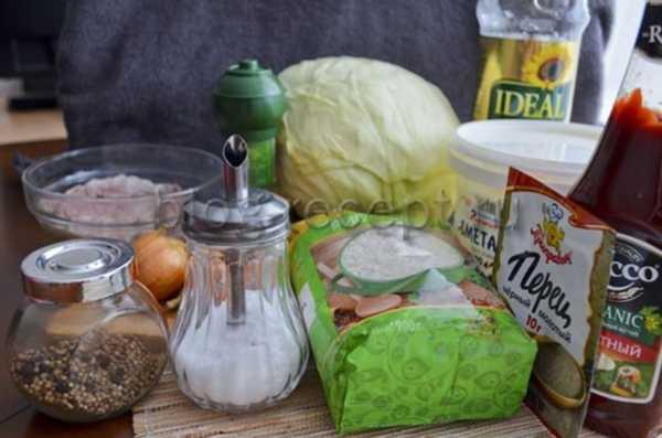 Ленивые голубцы рецепт с фото пошагово в мультиварке
