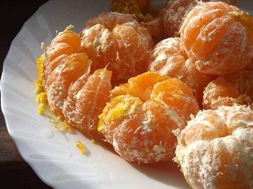 Варенье из мандаринов целых
