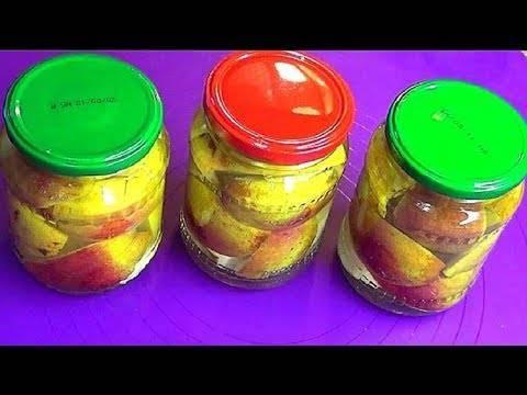 Яблоки на зиму без стерилизации