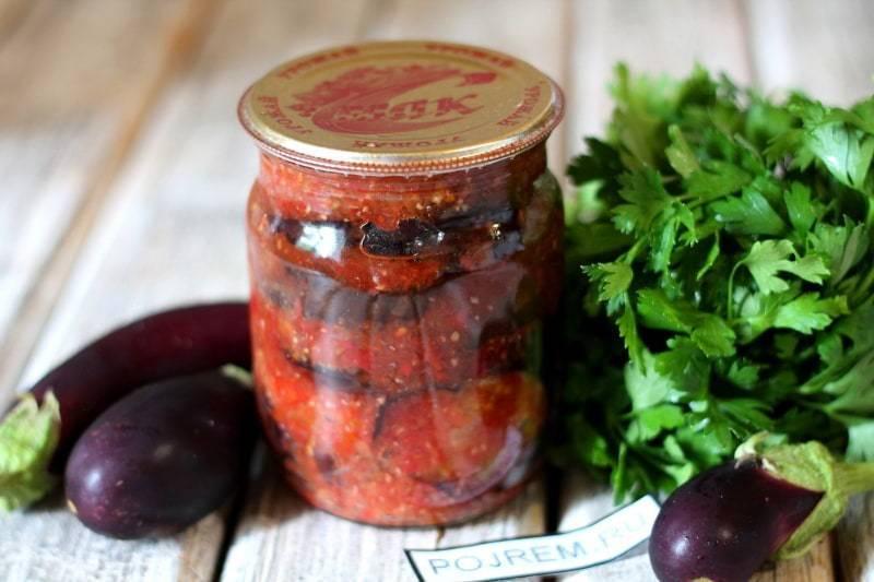 Салаты из баклажанов на зиму— самые вкусные рецепты