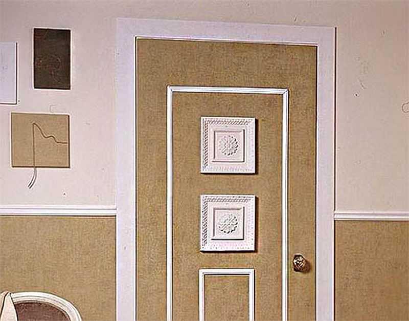 Двери из двп обновить фото