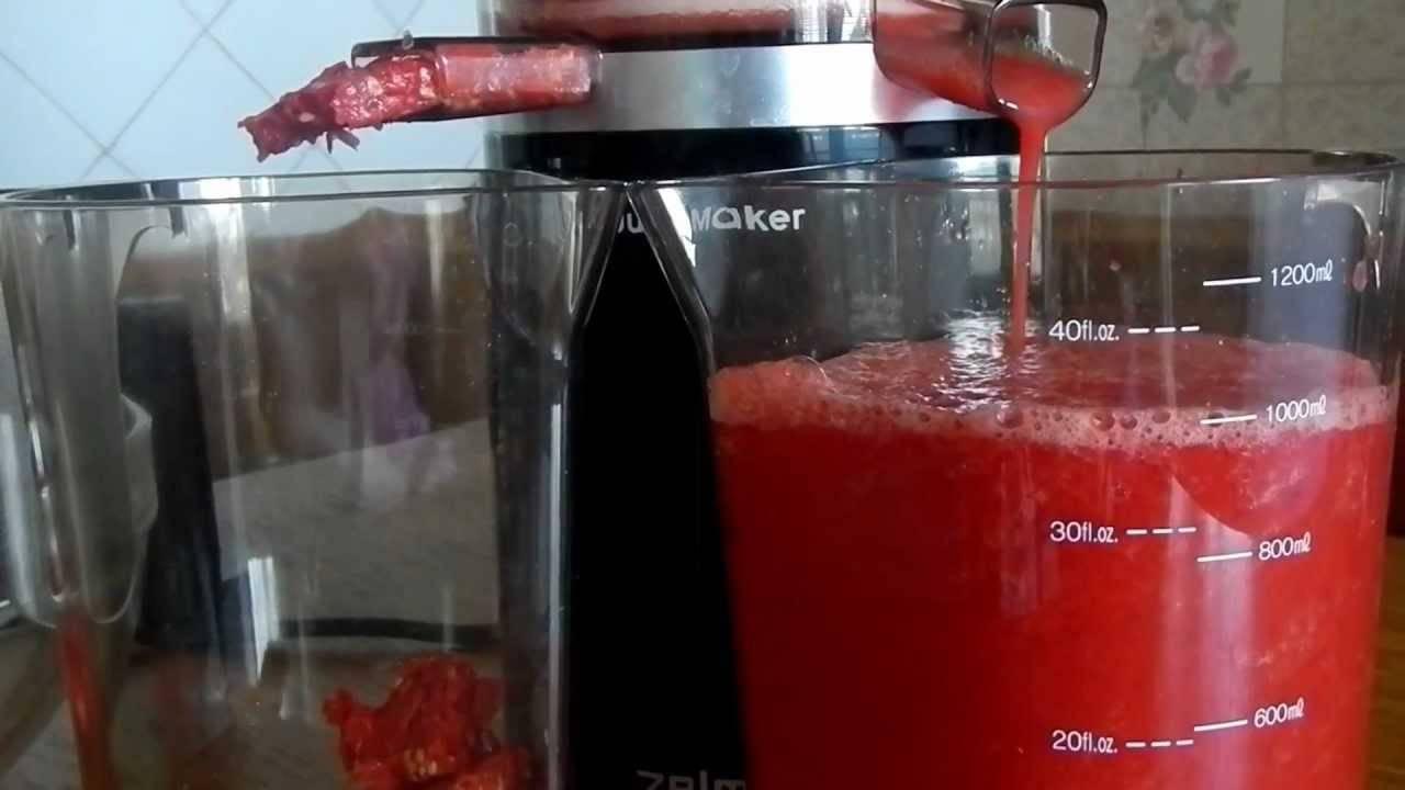 Как изготовить томатный сок в домашних условиях без соковыжималки?