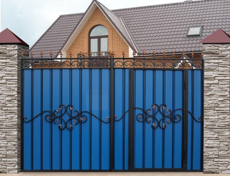 Как сделать сдвижные ворота своими руками?