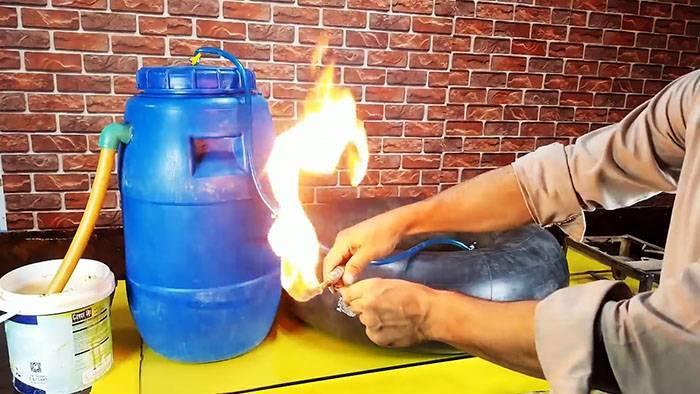 Принцип работы биогазовой установки